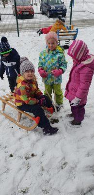 Kratke zimske radosti v oddelku Miške