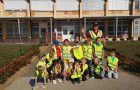 Otroci oddelka Metulji v projektu Beli zajček